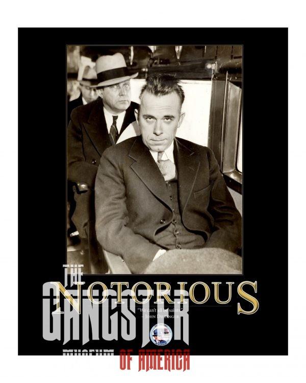 John Dillinger Notorious Poster 16x20